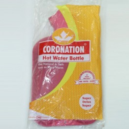 Hot Water Bottle Bag Coronation - Super Deluxe (2 Sides Ribbed) (Non-Electrical)
