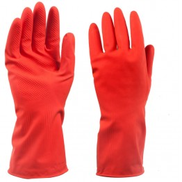 Kiwi Household Orange Rubber Reusable Gloves (1 Pair) -  Heavy Duty