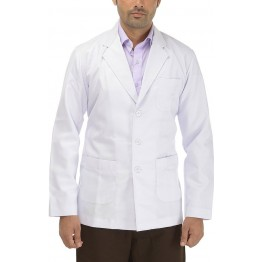 Perfect Doctor's Lab Coat (Unisex) Full Sleeves - White