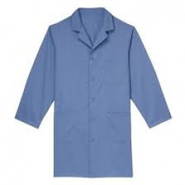 Perfect Doctor's Lab Coat (Unisex) Full Sleeves - Light Blue