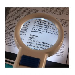 Handheld Magnifying Lens/Glass with 5 Led Lights