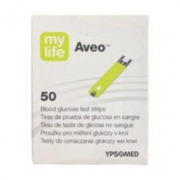Ypsomed Mylife Aveo 50 Glucometer Test Strips