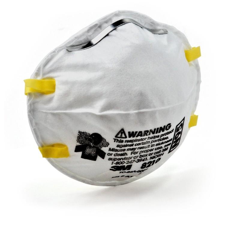 Mask Respirator 3m - Piece Particulate N95 8210 1