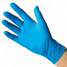 Handsafe Nitrile Powder Free Exam Gloves (Blue) - 100 pcs. Box