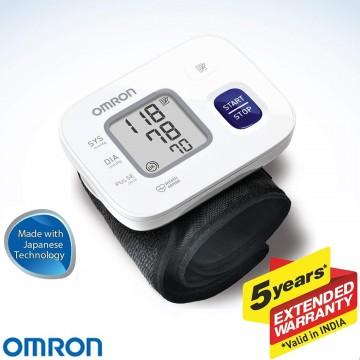 Omron Wrist Blood Pressure Monitor HEM-6161