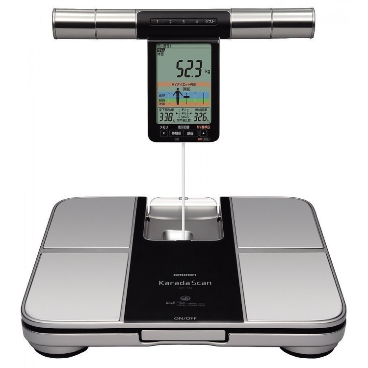 Omron Karada Scan Body Composition Monitor Hbf 701 Buy