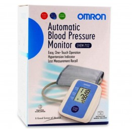 Omron Blood Pressure Monitor Digital HEM 7112