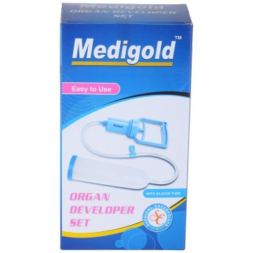 Medigold  Organ Developer Pump (Penis Enlargement Kit Vacuum Pump) For Males