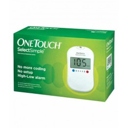 One Touch Select Gulcometer With Free 25+10 Strips