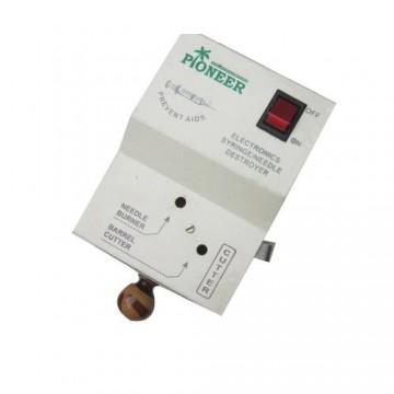 Pioneer Electronic Syringe & Needle Destroyer