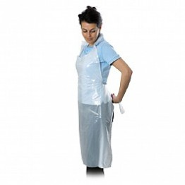 Disposable Plastic Apron (Color may Vary)