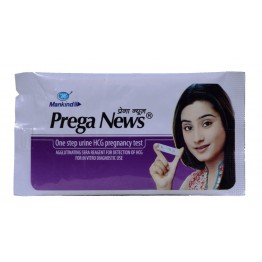 PregaNews Pregnancy Test Strip ( Pack of 2 )