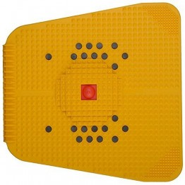 Accupressure PowerMat With Magnet Pyramids For Pain Relief