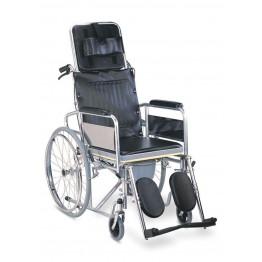 Rainbow Recliner cum Commode Wheel Chair