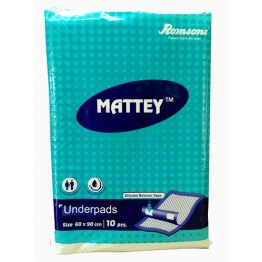 Romsons Mattey Underpad Sheets  (10/Pack)