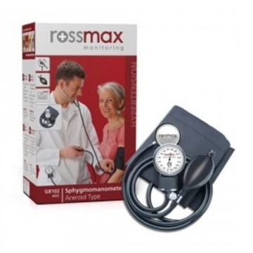 Rossmax Aneroid Blood Pressure Monitor (Dial Type) With Stethoscope GB102