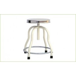 Patient Revolving Stool S.S.Top (4 Leg)