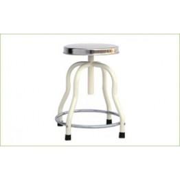 Patient Revolving Stool S.S.Top (4 Leg)