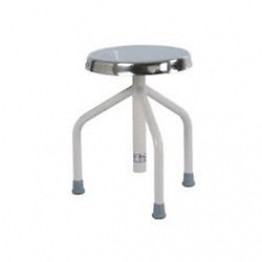 Patient Revolving Stool S.S.Top (3 Leg)