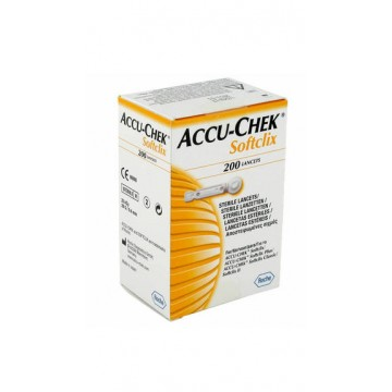 AccuChek Softclix Lancets 200 Pcs. Pack