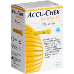 AccuChek Softclix Lancets 50 Pcs. Pack