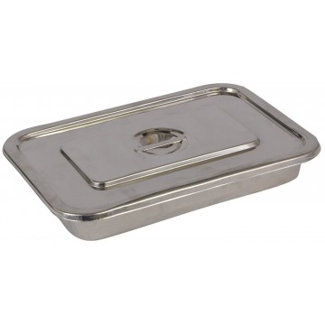 Medical Instrument Tray with Cover- SS