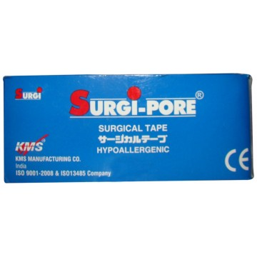 Surgipore Microporous Surgical Tape (Paper Tape) - 5mtr. Box Pack