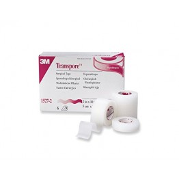 Transpore Tape 3M (Plastic Hypoallergenic Tape) - Box Pack