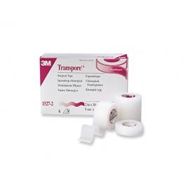 Transpore Tape 3M (Plastic Hypoallergenic Tape) - Box Pack