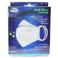 Tynor Mask Fabric Washable (Pack of 3 Pieces) - Plain