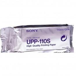 Sony Ultrasound Thermal Paper Roll 110mm X 20m UPP-110S B/W  (1 Roll)