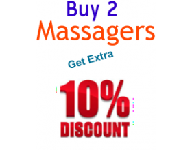 Buy 2 Massagers & Get 10% Off