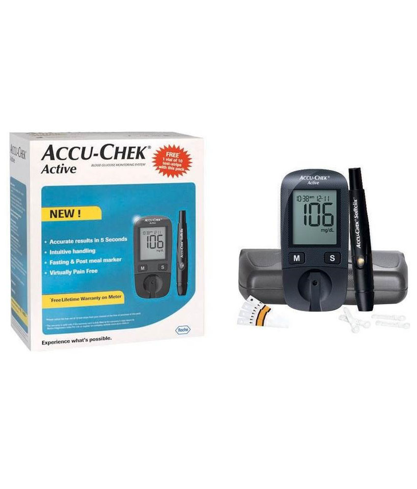 how to use accu chek active blood glucose meter