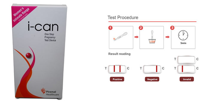I Know Ovulation Kit I Can Pregnancy Test Device 3 Pcs