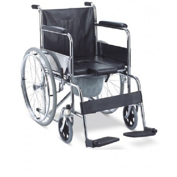 karma folding commode wheel chair rainbow 7 buy online at best price in india from. Black Bedroom Furniture Sets. Home Design Ideas