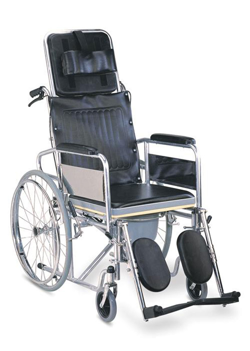 Rainbow Recliner Cum Commode Wheel Chair Buy Online At